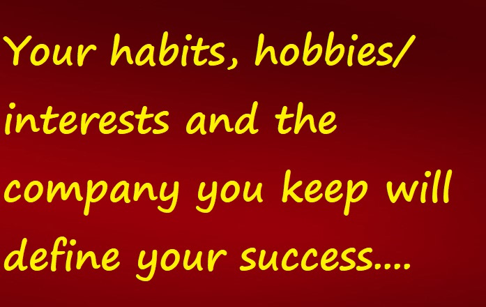 habits and hobbies